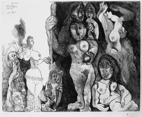 Le Théatre De Picasso: Eros Et Les Femmes by Pablo Picasso at R. S. Johnson Fine Art (IFPDA)
