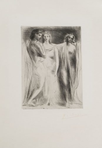Les Trois Femmes by Pablo Picasso at John Szoke Gallery (IFPDA)