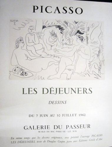 Picasso, Les Dejeuners, Dessins, Galerie Du Passeur by Pablo Picasso at