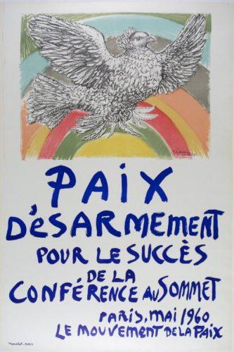 Paix D'esarmement by Pablo Picasso