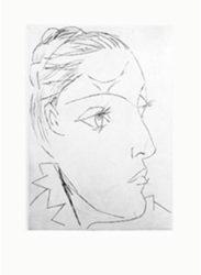 Portrait De Dora Maar Au Chignon. Ii by Pablo Picasso at John Szoke Gallery (IFPDA)