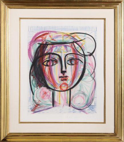 Tete De Femme by Pablo Picasso at Pablo Picasso