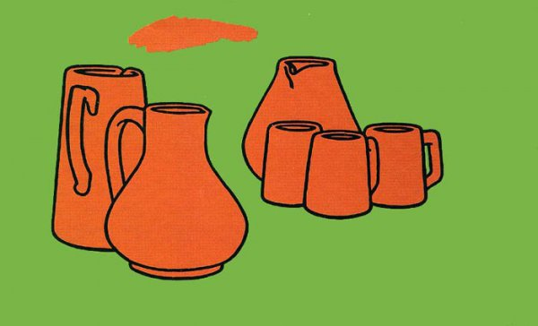 Earthenware by Patrick Caulfield at