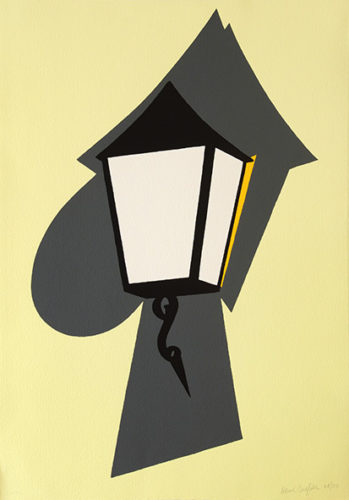 Wall Lamp by Patrick Caulfield at