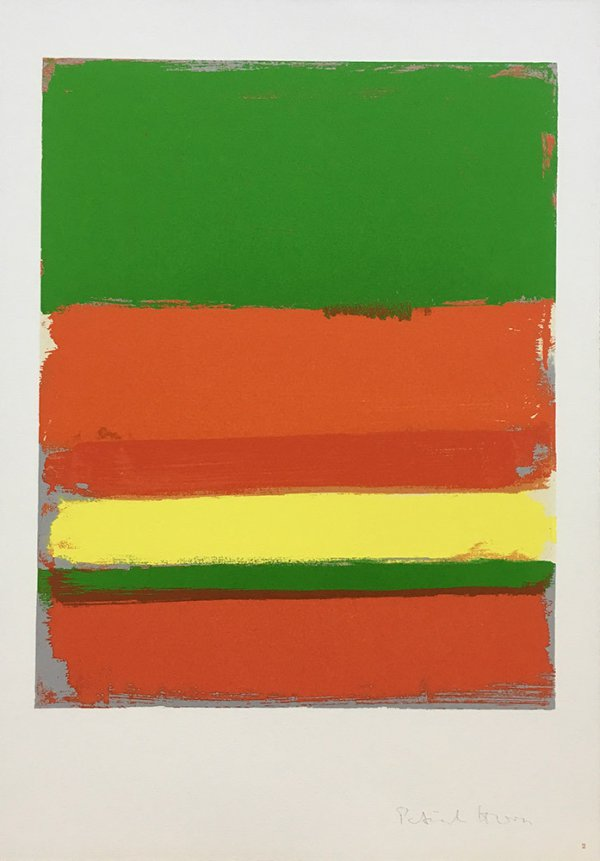 Shapes Of Colour: 2 by Patrick Heron