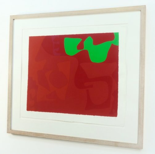 Small Red: January 1973 by Patrick Heron at PGR Fine Art