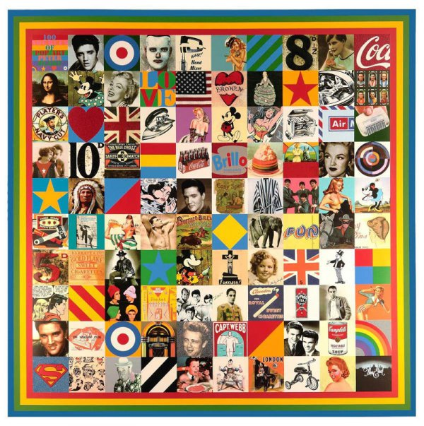 100 Sources Of Pop Art by Peter Blake