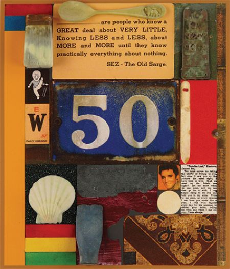 3d Wooden Puzzle Series: 50 by Peter Blake