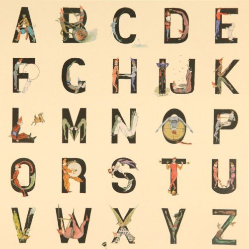 Appropriated Alphabets 4 by Peter Blake