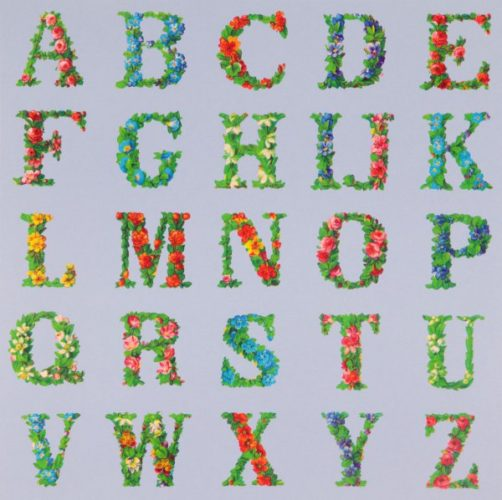 Appropriated Alphabets 8 by Peter Blake