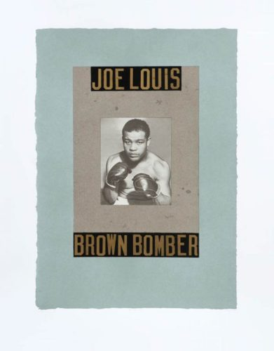 B Is For Boxer – Joe Louis by Peter Blake