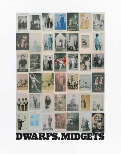D Is For Dwarfs , Midgets by Peter Blake