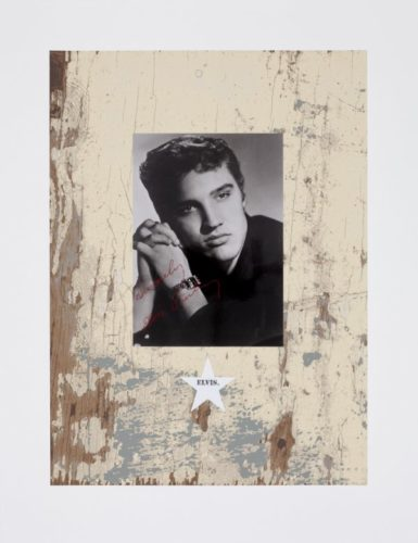 Elvis. by Peter Blake