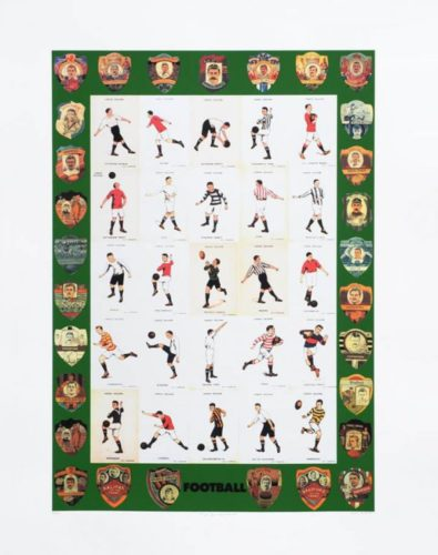 F Is For Football Clubs by Peter Blake