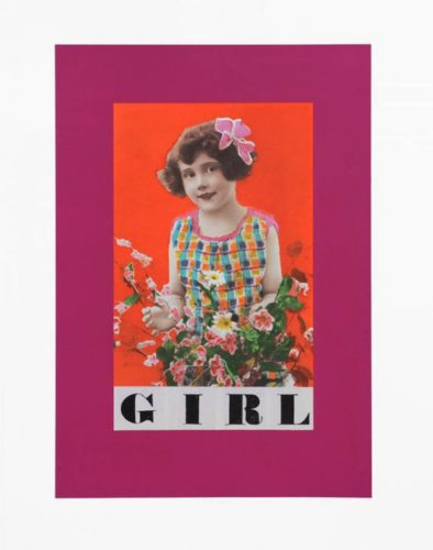 G Is For Girl by Peter Blake