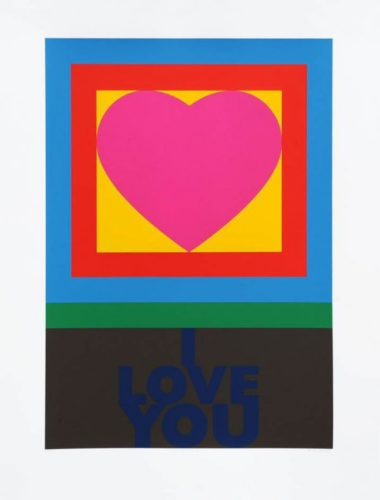 H Is For Heart – I Love You by Peter Blake