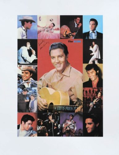 K Is For King – The King – Elvis Presley by Peter Blake