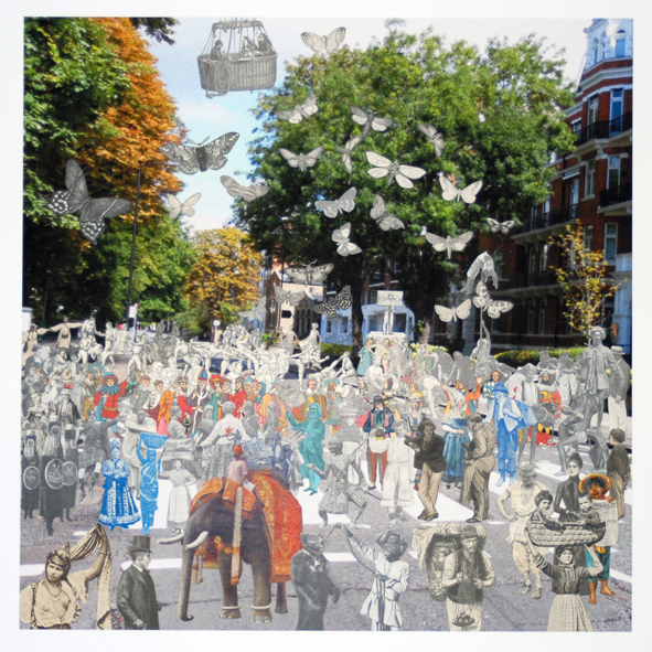 London- Abbey Road Parade by Peter Blake