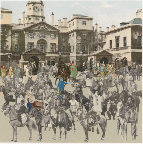 London- Horse Guards Parade- Horses And Horsemen by Peter Blake