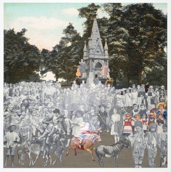 London- Regent's Park- The Runaway Donkeys by Peter Blake