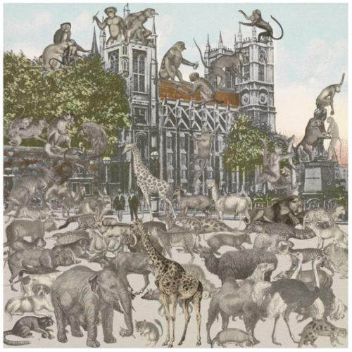 London- Westminster Abbey- Animalia by Peter Blake