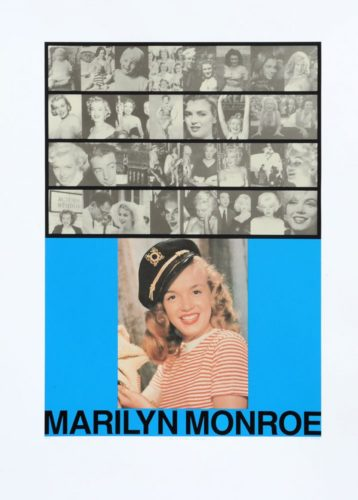 M Is For Marilyn Monroe by Peter Blake
