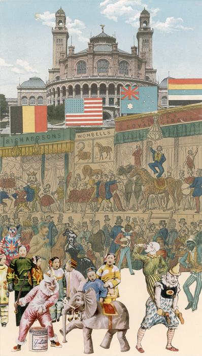 Paris-circus I by Peter Blake