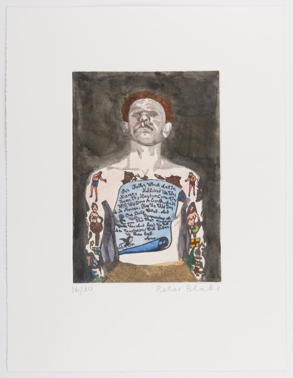 Reverend Ricky Wreck by Peter Blake
