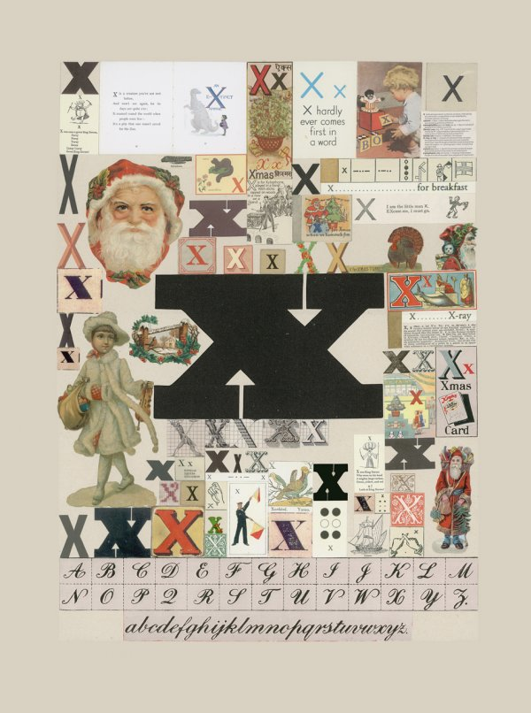 The Letter 'x' by Peter Blake