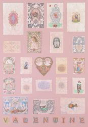 V Is For Valentine by Peter Blake at
