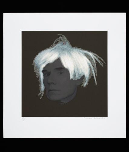 Warhol Diamond Dust Ii by Peter Blake