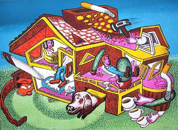 """""""modern Home"""" by Peter Saul"""