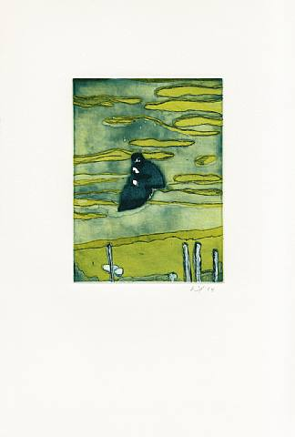 Boathouse by Peter Doig at