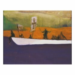 Canoe by Peter Doig at Vogtle Contemporary