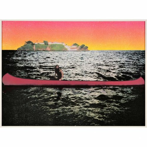 Canoe – Island by Peter Doig