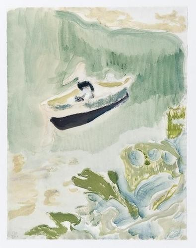 Cyrils Bay by Peter Doig at