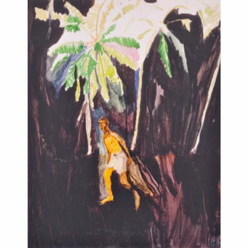 Fisherman by Peter Doig at