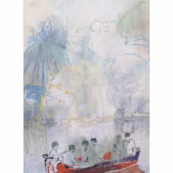Imaginary Boys by Peter Doig at Vogtle Contemporary