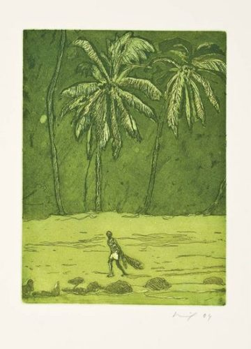 Pelican by Peter Doig at