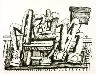 Room by Philip Guston at Susan Sheehan Gallery
