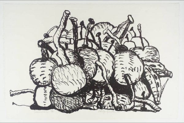 Summer by Philip Guston at Susan Sheehan Gallery (IFPDA)
