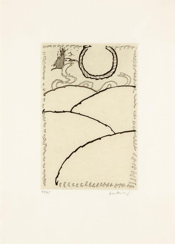 Cerclitude 02 by Pierre Alechinsky