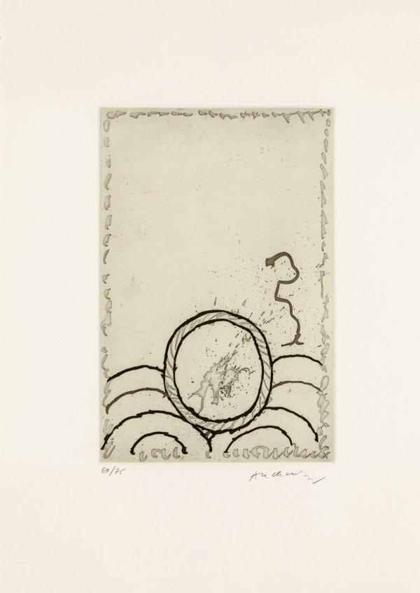 Cerclitude 04 by Pierre Alechinsky