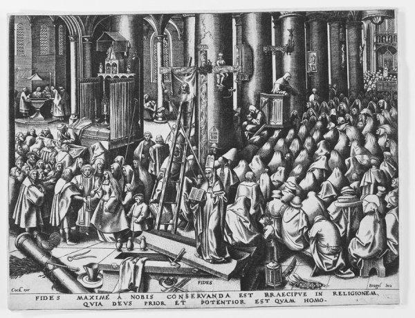 Fides (faith) by Pieter Brueghel the Elder