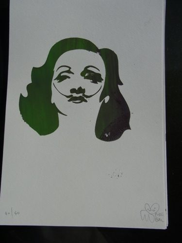 Green Marlene Dali by Pure Evil
