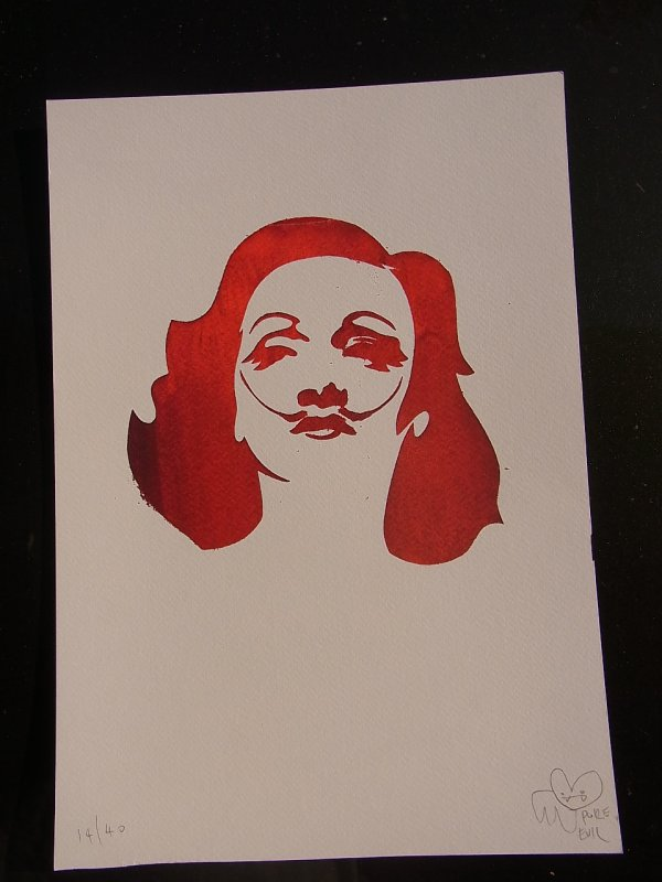 Marlene Dali Red by Pure Evil