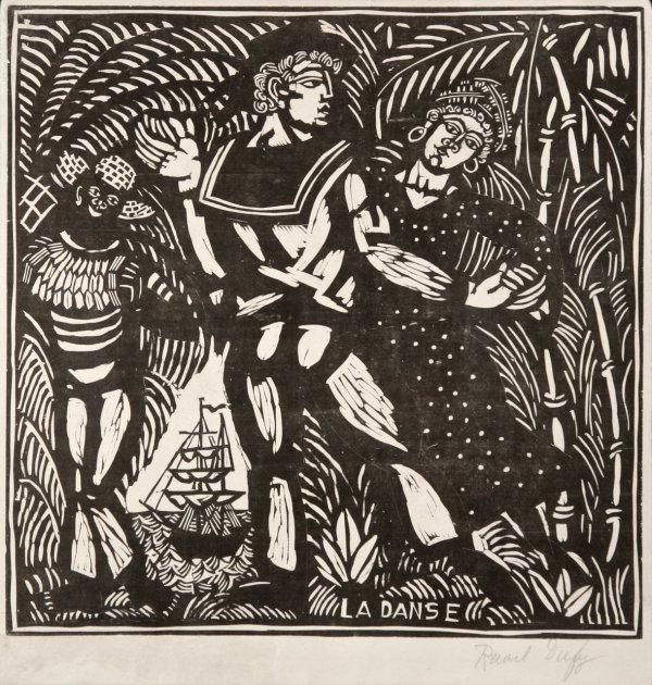 La Danse by Raoul Dufy