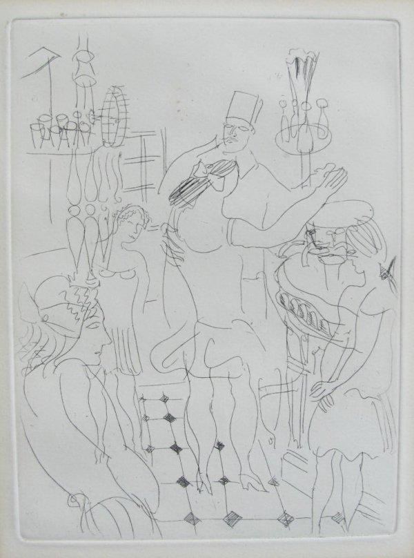 La Belle-enfant Ou L'amour A Quarante Ans by Raoul Dufy