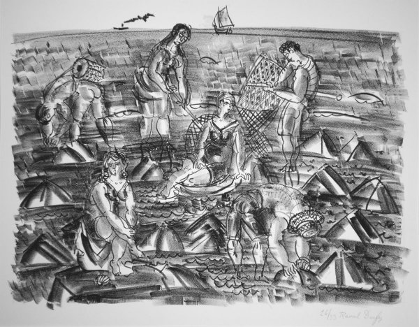 Pecheurs De Crevettes by Raoul Dufy at