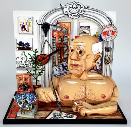 """picasso"" by Red Grooms"